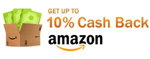 Get up to 10% Cash Back at Amazon.com