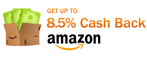 Get up to 8.5% Cash Back at Amazon.com