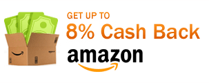 Get up to 8% Cash Back at Amazon.com