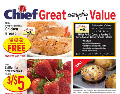 Chief Supermarket Weekly Ad Circular