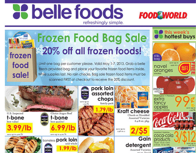 Belle Foods Weekly Ad Circular