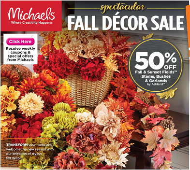 Michaels Weekly Ad Circular
