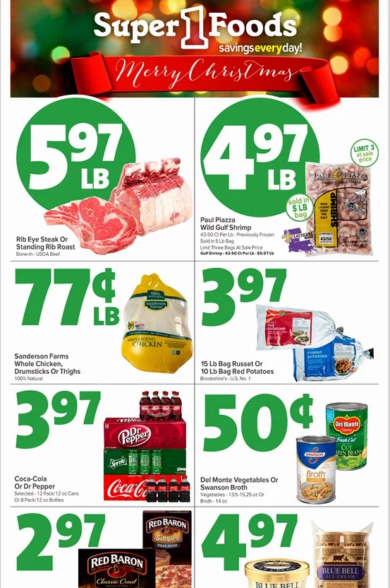 Super 1 Foods Weekly Ad Circular