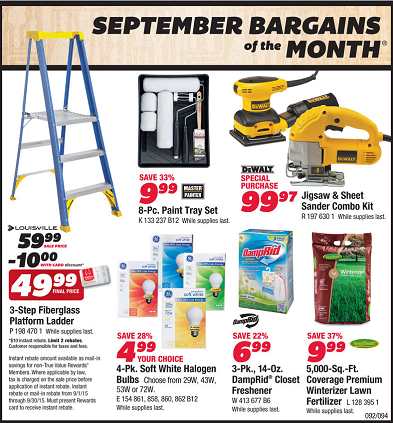 True Value Weekly Ad Circular