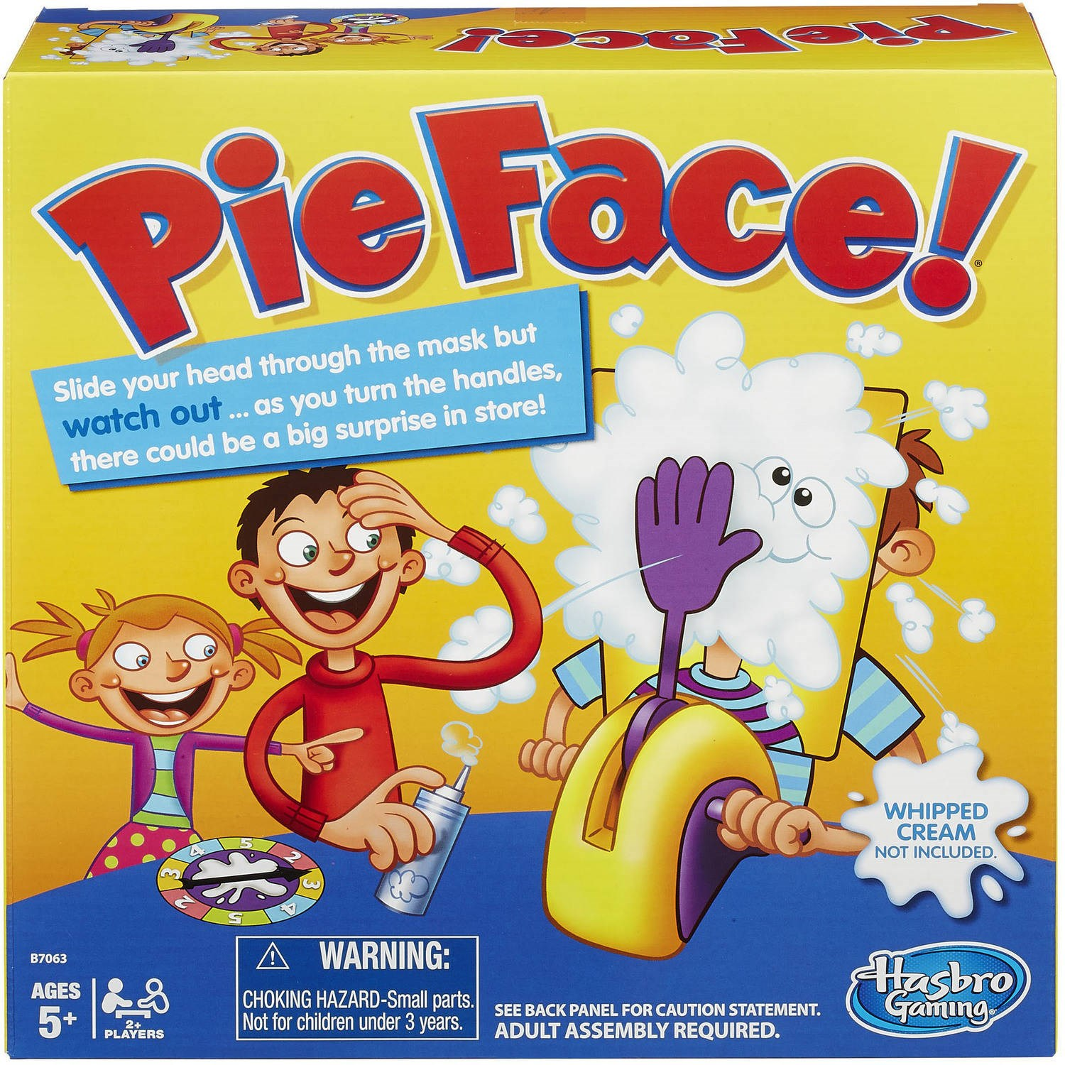 Pie Face! Board Game