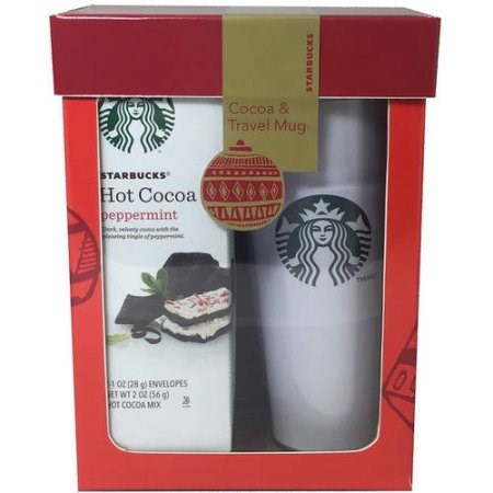 Starbucks Cocoa Travel Mug Set