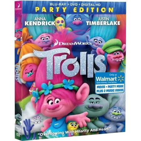 Trolls Party Edition (Blu-Ray + DVD + Digital HD)